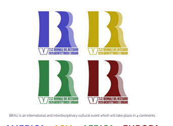 The 5th BRAU Biennial on Architectural and Urban Restoration is streaming online