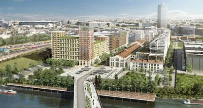 The Olympic Village of Paris 2024 reclassifies an industrial area