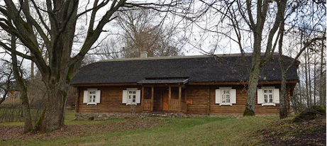 A typical dwelling house of Eastern Lithuania