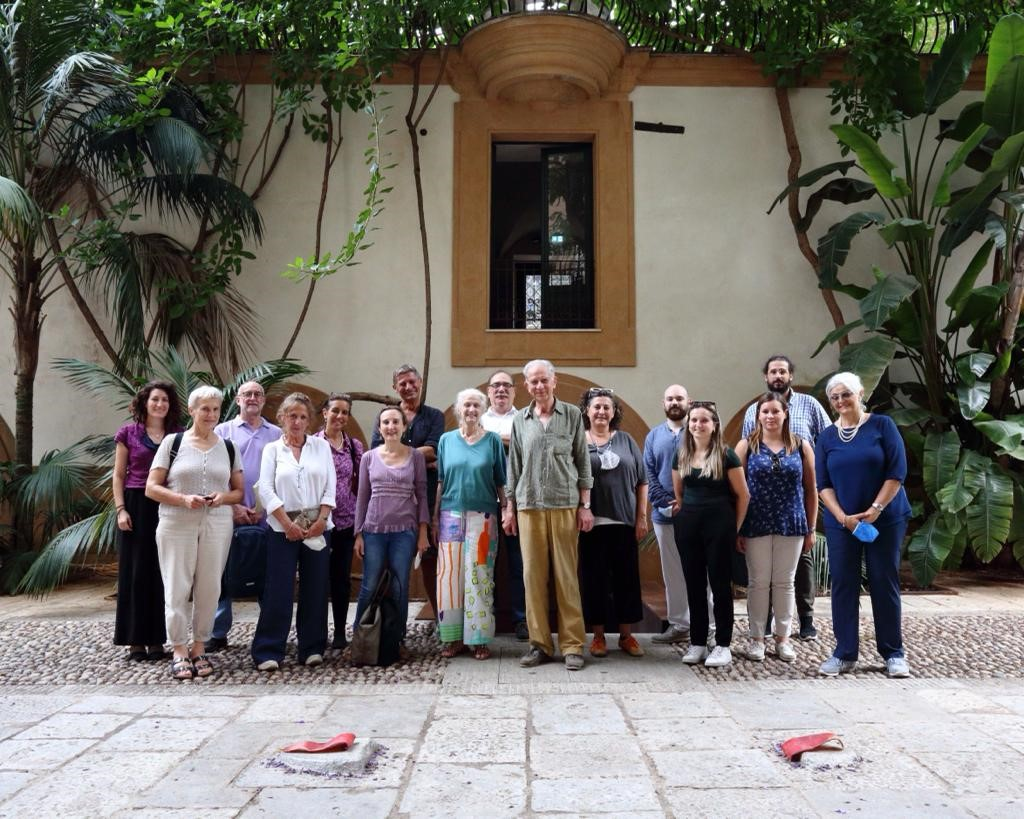A photo of the project management meeting on september 2020