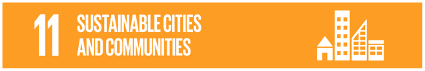 sustainable cities and communities logo